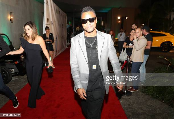 Cuba Gooding Jr attends 2020 Big Game Big Give at Star Island on February 01 2020 in Miami Florida