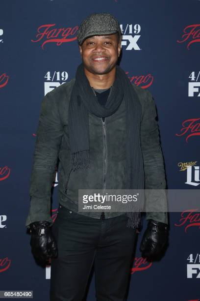Cuba Gooding Jr attends FX's 2017 Upfront at SVA Theater on April 6 2017 in New York City