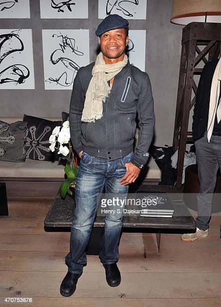 Cuba Gooding Jr attends Lionsgate Roadside Attractions host the after party for the Tribeca Film Festival World Premiere of 'Maggie' at Tutto II...