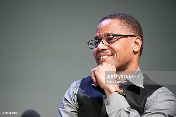 Cuba Gooding Jr attends Meet The Filmmaker Lee Daniels at the Apple Store Soho on August 19 2013 in New York City