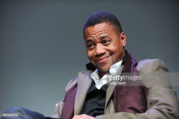 Cuba Gooding Jr attends 'Meet The Filmmakers' at Apple Store Soho on January 13 2014 in New York City