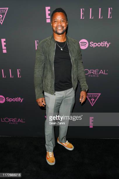 Cuba Gooding Jr attends Nina Garcia Jameela Jamil E Entertainment Host ELLE Women In Music Presented by Spotify at The Shed on September 05 2019 in...