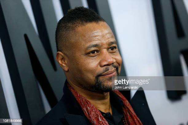 "Cuba Gooding Jr. Attends ""Second Act"" World Premiere at Regal Union Square Theatre, Stadium 14 on December 12, 2018 in New York City."