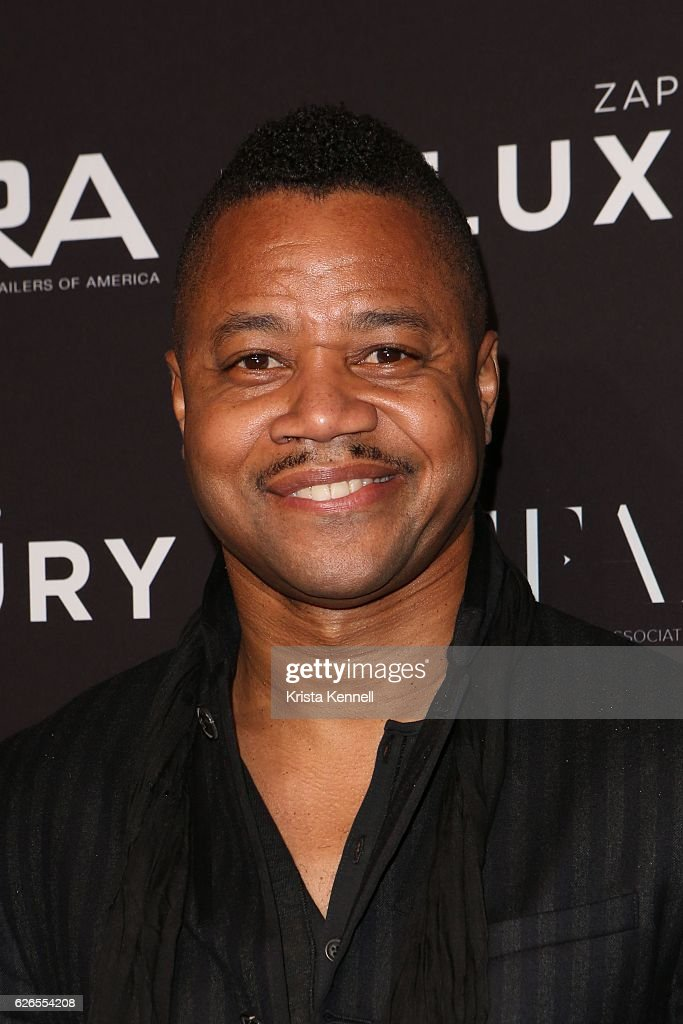 Cuba Gooding Jr attends the 30th FN Achievement Awards at IAC Headquarters on November 29, 2016 in New York City.