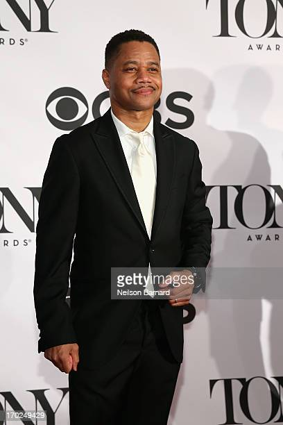 Cuba Gooding Jr attends The 67th Annual Tony Awards at Radio City Music Hall on June 9 2013 in New York City