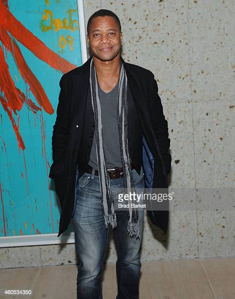 Cuba Gooding Jr attends the Big Eyes New York Premiere After Party at Kappo Masa on December 15 2014 in New York City