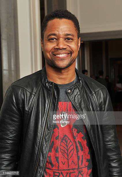 Cuba Gooding Jr attends The Corinthia fundraising evening for Gender Rights Equality Action Trust at Corinthia Hotel London on May 19 2011 in London...