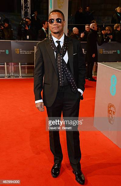 Cuba Gooding Jr attends the EE British Academy Film Awards at The Royal Opera House on February 8 2015 in London England