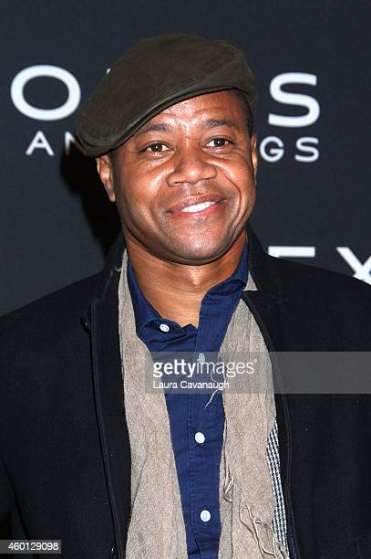 Cuba Gooding Jr attends the Exodus Gods And Kings New York Premiere at Brooklyn Museum on December 7 2014 in New York City
