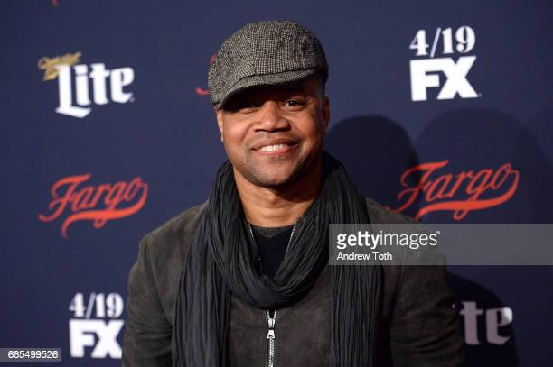 Cuba Gooding Jr attends the FX Network 2017 AllStar Upfront at SVA Theater on April 6 2017 in New York City