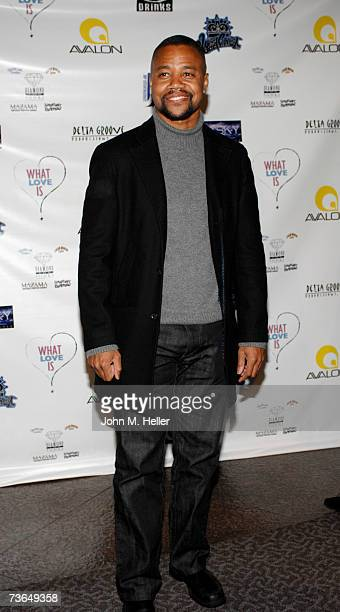 Cuba Gooding Jr attends the Los Angeles Premiere Of What Love Is at the Directors Guild of America on March 20 2007 in Los Angeles California