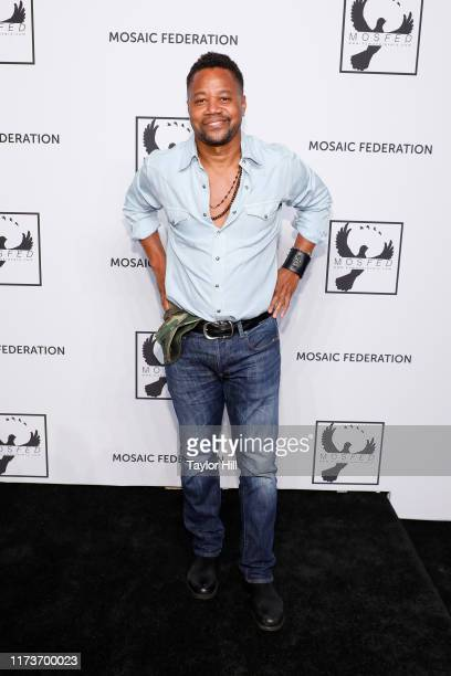 Cuba Gooding Jr attends the Mosaic Federation Gala Against Human Slavery on September 10 2019 at Cipriani 42nd Street in New York City