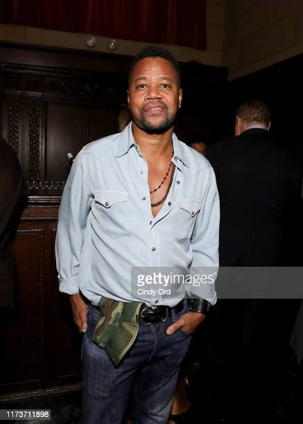 Cuba Gooding Jr. Attends the Mosaic Federation Gala Against Human Slavery on September 10, 2019 at Cipriani 42nd Street in New York City.