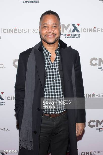Cuba Gooding Jr attends the opening of CMX CineBistro with special screenings of BlacKkKlansman City Lights Pretty Baby at CMX CineBistro on November...