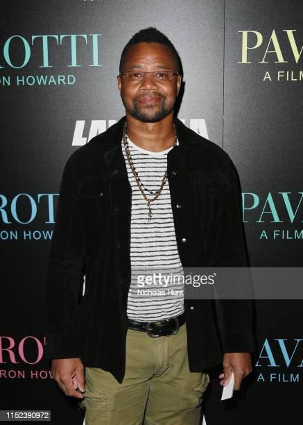 Cuba Gooding Jr attends the Pavarotti New York Screening at iPic Theater on May 28 2019 in New York City