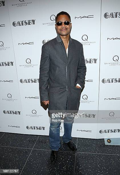 Cuba Gooding Jr attends the preMet Ball special screening of The Great Gatsby at MOMA on May 5 2013 in New York City