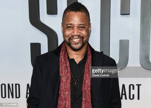 Cuba Gooding Jr attends the 'Second Act' World Premiere at Regal Union Square Theatre Stadium 14 on December 12 2018 in New York City