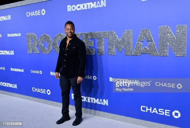 Cuba Gooding Jr attends the US Premiere of Rocketman at Alice Tully Hall on May 29 2019 in New York New York
