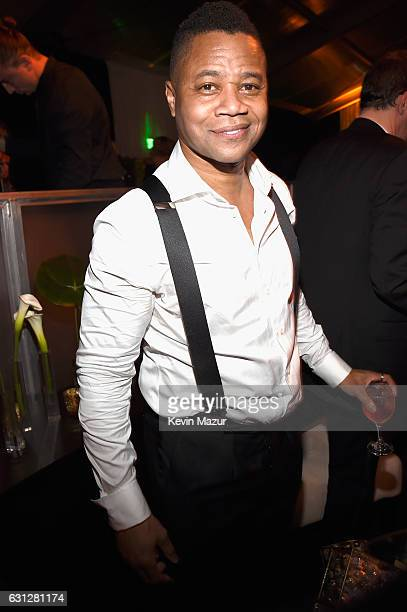 Cuba Gooding Jr. Attends The Weinstein Company and Netflix Golden Globe Party, presented with FIJI Water, Grey Goose Vodka, Lindt Chocolate, and...