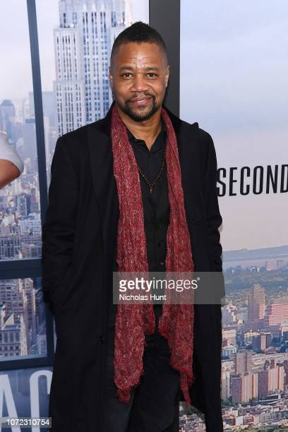 "Cuba Gooding Jr. Attends the world premiere of ""Second Act"" at Regal Union Square Theatre, Stadium 14 on December 12, 2018 in New York City."