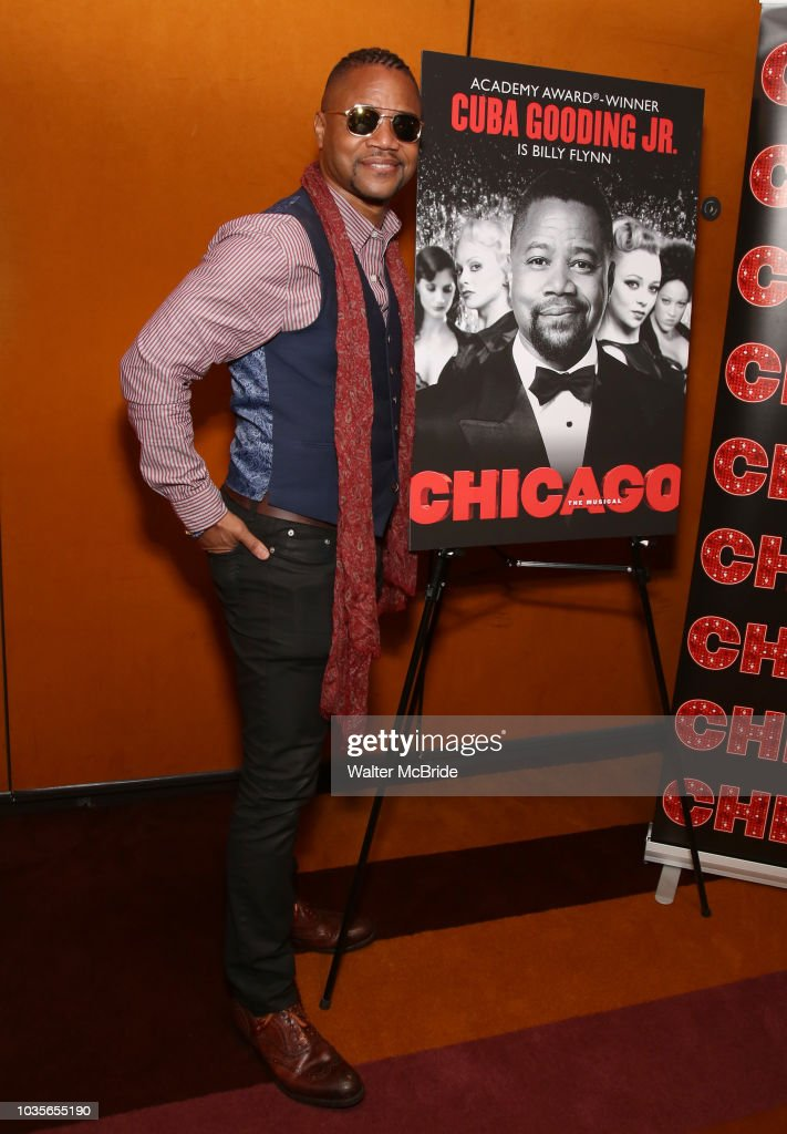 "Cuba Gooding Jr. Celebrates His Return To ""Chicago"" On Broadway"