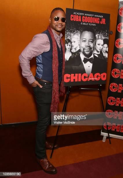 Cuba Gooding Jr celebrates his return to 'Chicago' on Broadway at The Lambs Club on September 18 2018 in New York City