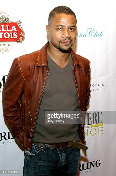 Cuba Gooding Jr during AFI Fest 2005 LiveStyle's Premiere Lounge for Sorry Haters After Party at Cabana Club in Los Angeles California United States
