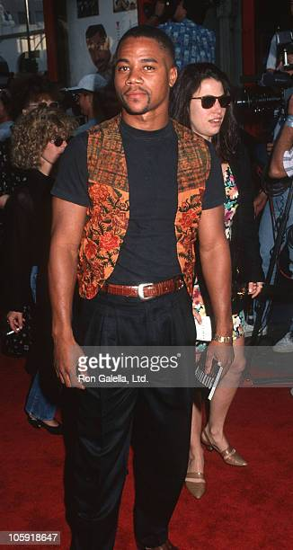 Cuba Gooding Jr during 'Boomerang' Los Angeles Premiere Arrivals at Mann's Chinese Theater in Hollywood California United States
