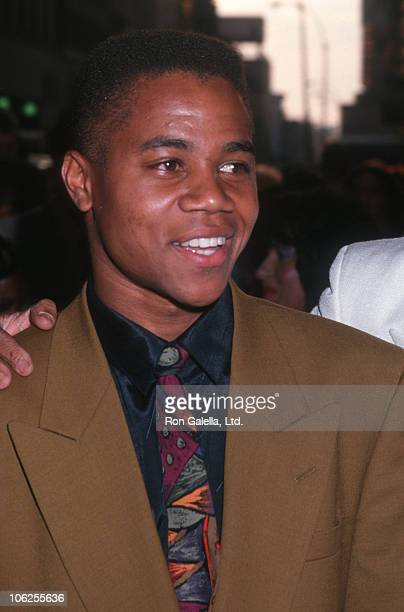"Cuba Gooding Jr. During ""Boyz In The Hood"" New York Premiere - July 8, 1991 at Loews Astor Theater in New York City, New York, United States."