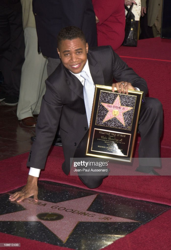 Cuba Gooding Jr. Honored with a Star on the Hollywood Walk of Fame for His Achievements in Film
