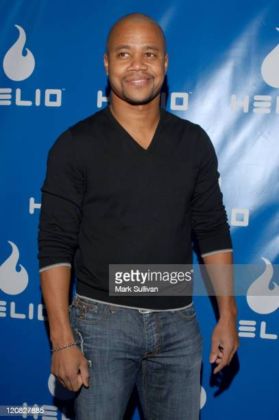 Cuba Gooding Jr during Helio Drift Launch Party Arrivals at 400 South La Brea in Los Angeles CA United States