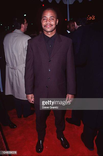 Cuba Gooding Jr during Jerry Maguire Los Angeles Premiere at Mann Village Theatre in Los Angeles California United States