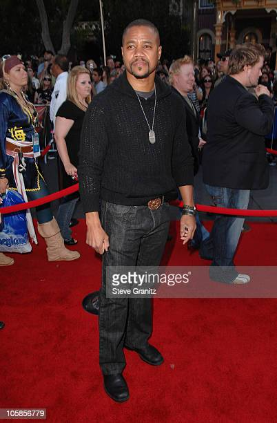 Cuba Gooding Jr during Pirates of the Caribbean At World's End World Premiere Arrivals at Disneyland in Anaheim California United States