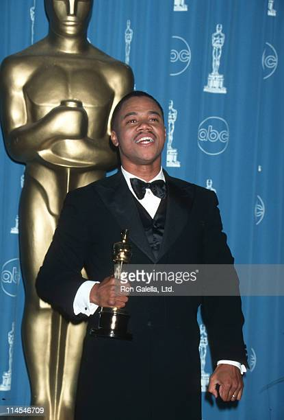 Cuba Gooding Jr during The 69th Annual Academy Awards Press Room at Shrine Auditorium in Los Angeles California United States