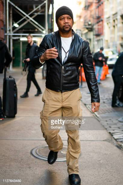 Cuba Gooding Jr is seen in SoHo on February 05 2019 in New York City