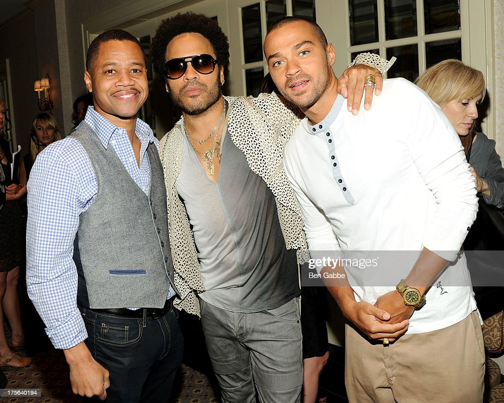 Cuba Gooding Jr., Lenny Kravitz and Jesse Williams attend the press conference for The Weinstein Company's LEE DANIELS' THE BUTLER at Waldorf Astoria Hotel on August 5, 2013 in New York City.