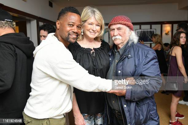 """Cuba Gooding Jr., Martha Stewart and David Crosby attend Sony Pictures Classics & The Cinema Society Host A Hamptons After Party For """"David Crosby:..."""