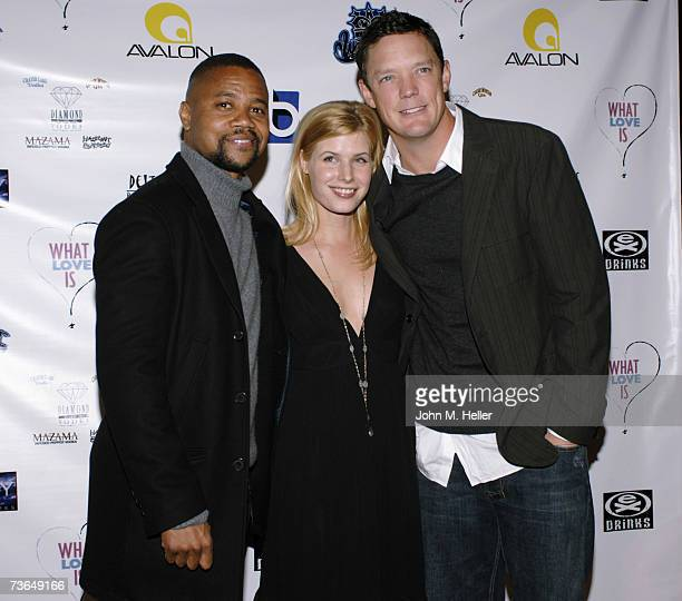 Cuba Gooding Jrn Jud Tylor and Matthew Lillard attend the Los Angeles Premiere Of What Love Is at the Directors Guild of America on March 20 2007 in...