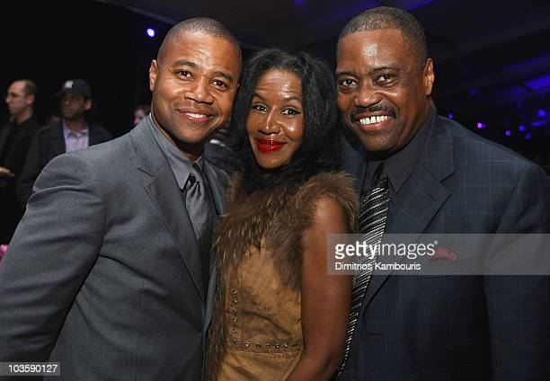 Cuba Gooding JrShirley Gooding and Cuba Gooding Sr attend at the after party for American Gangster New York City Premiere at The Apollo Theater on...