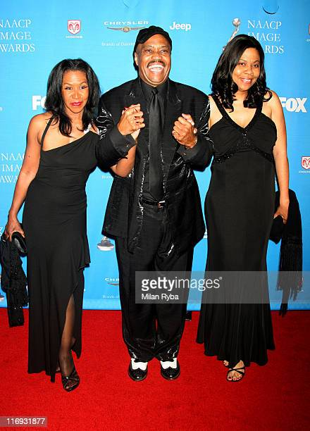 Cuba Gooding Sr and family during The 37th Annual NAACP Image Awards Red Carpet at Shrine Auditorium in Los Angeles California United States
