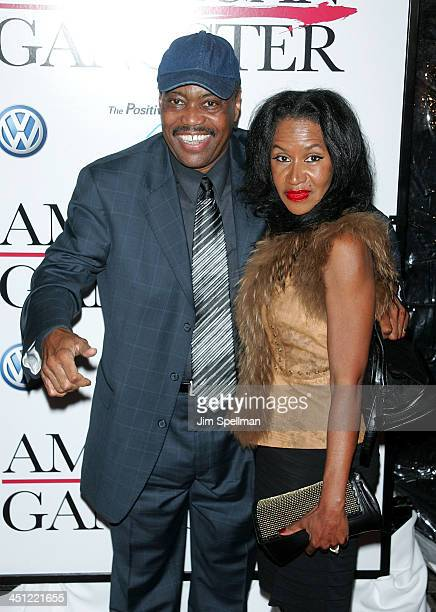 Cuba Gooding Srand guest arrive at American Gangster premiere at the Apollo Theater on October 19 2007 in New York City New York