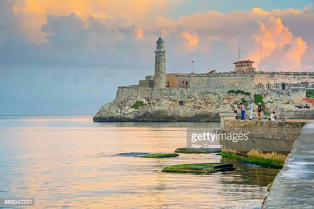 Cuba, Havana, Castillo del Morro (Castillo de los Tres Reyes del Morro)
