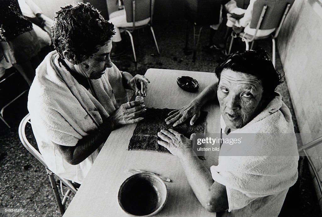 Cuba, Havanna, psychiatric hospital : News Photo