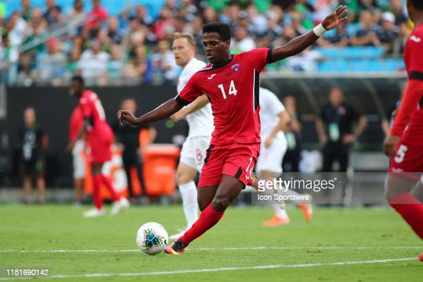 Cuba midfielder Jean Carlos Rodriguez during the 2nd half of the CONCACAF Gold Cup game with Canada versus Cuba on June 23rd at Bank of America...