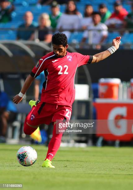 Cuba midfielder Roberney Caballero with the ball during the 1st half of the CONCACAF Gold Cup game with Canada versus Cuba on June 23rd at Bank of...