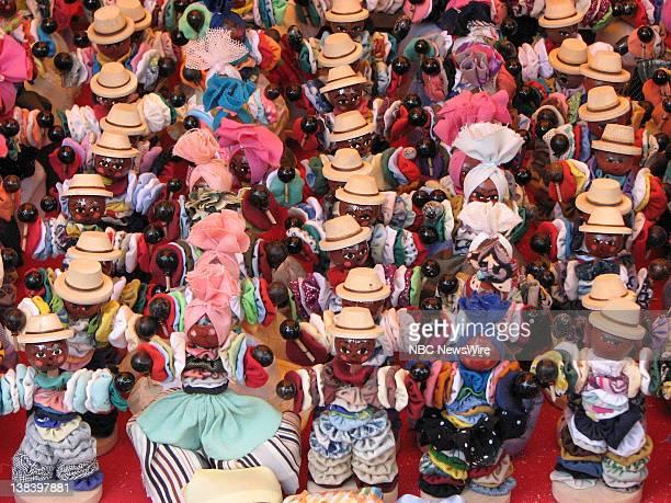 Miniature dolls in Havana Cuba in October 2006