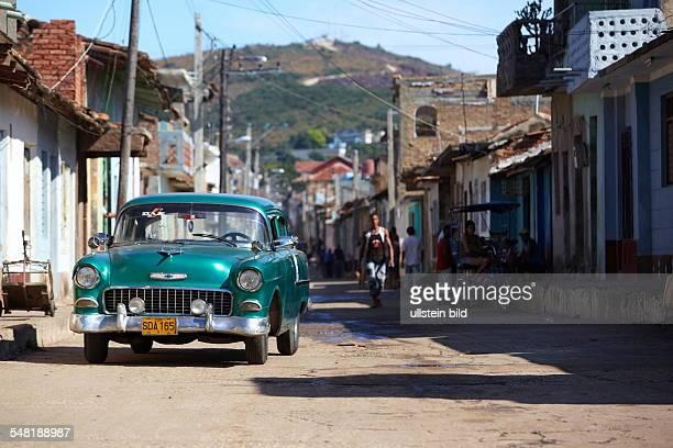 Cuba Sancti Spíritus Region Trinidad - old Chevrolet from the 50ies