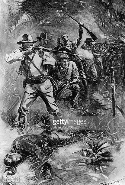 spanish american war war over rough riders reign My biggest role model is theodore roosevelt, for his work with the 'rough riders' and the spanish-american war the only way to solve this problem is creating a contraction in spanish-american war would be it correct if i put spa-am war.