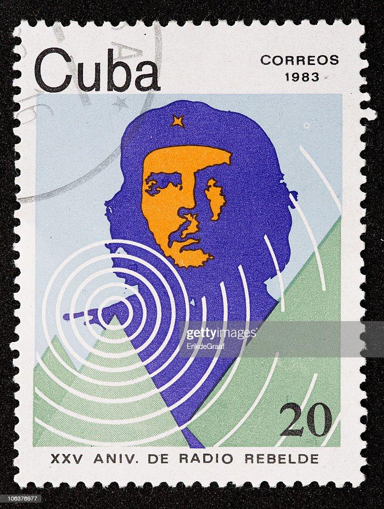 Cuba stamp : Stock Photo