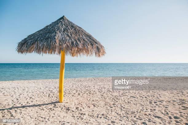 Cuba, Sunshade at Playa Ancon